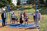 """""""It's Brilliant!"""" Salcombe's Refurbished Play Park Opens image"""