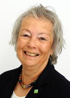 A portrait style photograph of Cllr Judy Pearce