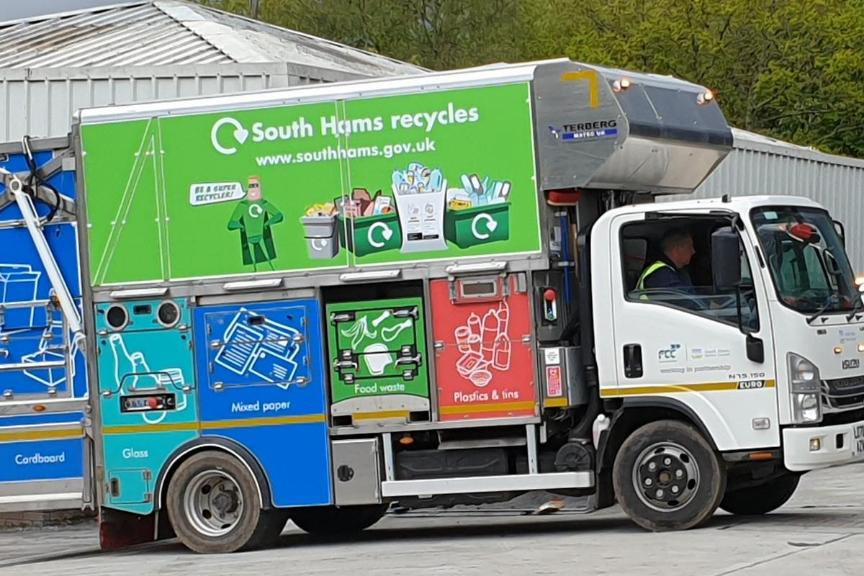 Recycling Vehicle